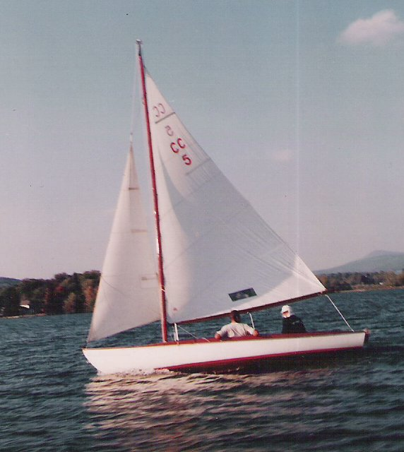 1935 cape cod sailboat